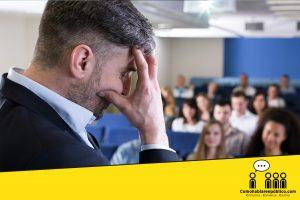 miedos comunes al hablar en publico