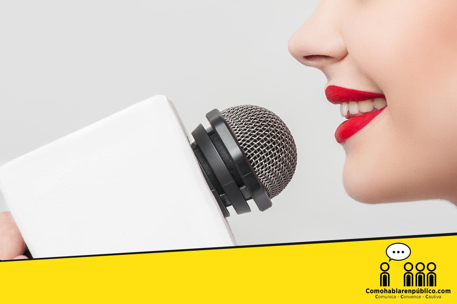 Como usar la voz para hablar con persuación